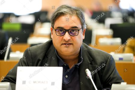 Stock Photo of Claude Moraes - LIBE committee meeting. Follow up in the Council to the Parliamentent s reasoned proposal pursuant to Article 7 TEU as regards the situation of the rule of law in Hungary