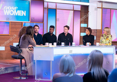 Editorial image of 'Loose Women' TV show, London, UK - 21 Nov 2019