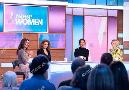 Christine Lampard, Nadia Sawalha, Rochelle Humes and Jane Moore