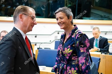 Philippe Lamberts and Margrethe Vestager