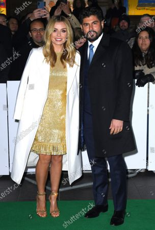 Stock Picture of Katherine Jenkins and husband Andrew Levitas