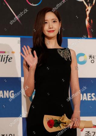 Editorial photo of Film Blue Dragon Awards, Incheon, South Korea - 21 Nov 2019
