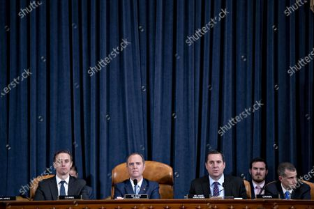 Editorial picture of House Intelligence Committee Holds Hearing On Impeachment Inquiry Of President Trump, Washington, USA - 21 Nov 2019