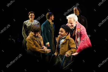 Editorial picture of 'A Christmas Carol' on Broadway, opening night, New York, USA - 20 Nov 2019