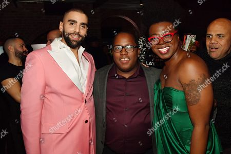 Phillip Picardi and Guests at the Out magazine Out100 Event, presented by Lexus