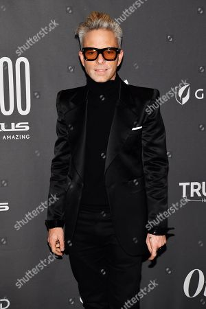 Stock Picture of Drew Elliott at the Out magazine Out100 Event, presented by Lexus