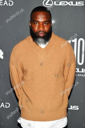 Darnell Moore at the Out magazine Out100 Event, presented by Lexus