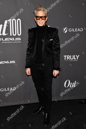 Drew Elliott at the Out magazine Out100 Event, presented by Lexus