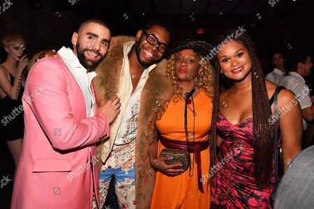 Phillip Picardi, Jeremy O. Harris and Raquel Willis at the Out Magazine Out100 Event, presented by Lexus