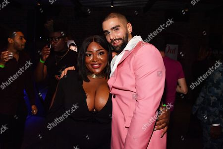 TS Madison and Phillip Picardi at the Out Magazine Out100 Event, presented by Lexus