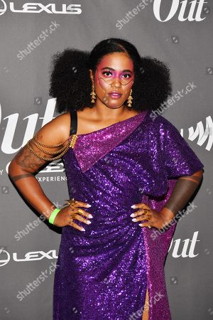 Akwaeke Emezi at the Out magazine Out100 Event, presented by Lexus