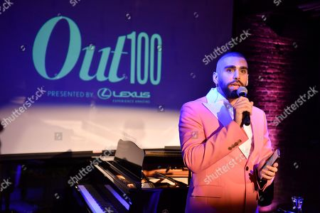 Phillip Picardi at theÊOutÊmagazine Out100 Event, presented by Lexus