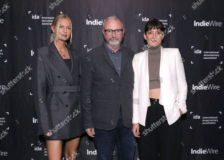 Stock Photo of Sandra Winther, IDA's Simon Kilmurry and Sasha Rainbow