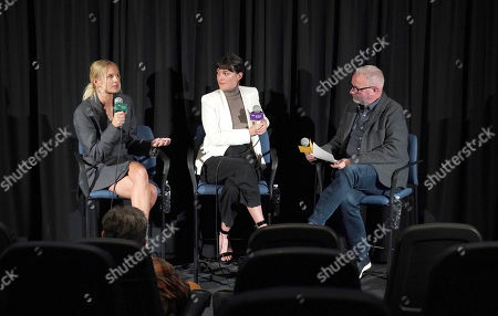 Sandra Winther, Sasha Rainbow and IDA's Simon Kilmurry