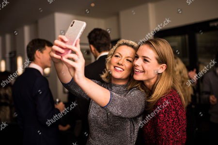 Stock Picture of Natalie Rushdie and Rosie Tapner