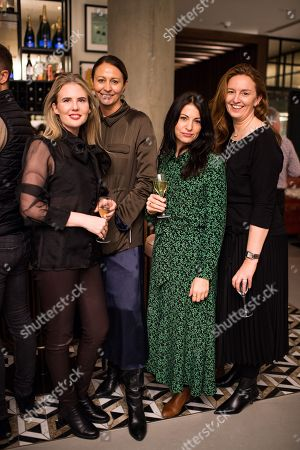 Poppy Delbridge, Caroline Rush, Emma Lawson,  Lorraine Pringle