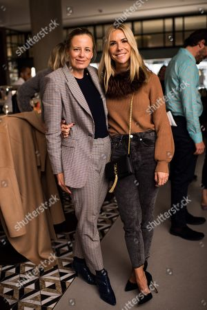 Stock Photo of Astrid Harbord and Louisa Preskett
