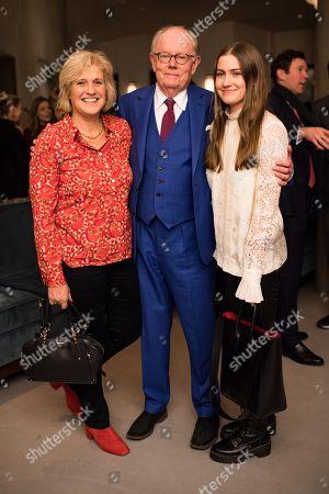 Stock Photo of Michael Whitehall, Hilary Amanda Jane Whitehall and Molly Louisa Whitehall