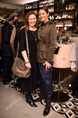 Lorraine Pringle and Caroline Rush,