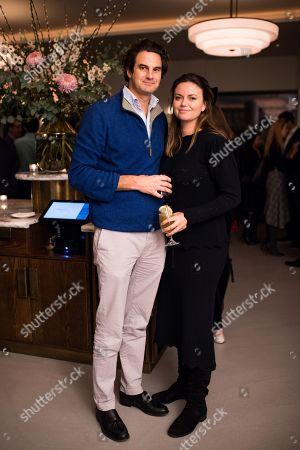 Stock Picture of Natasha Rufus Isaacs and Rupert Finch