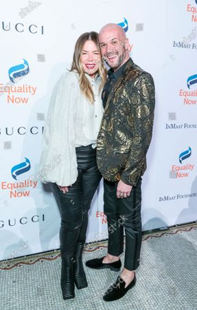 Stock Image of Mia Michaels and Jacob Bressers
