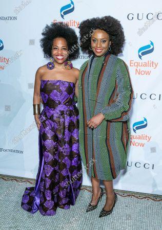 Rhonda Ross Kendrick and Chimamanda Ngozi Adichie
