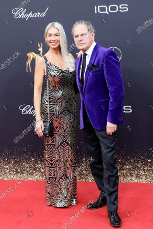 Stock Picture of Uwe Ochsenknecht and Kiki Viebrock attend the 71th annual Bambi awards ceremony in Baden Baden, Germany, 21 November 2019. The awards recognize excellence in international media and television.
