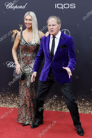 Stock Image of Uwe Ochsenknecht and Kiki Viebrock attend the 71th annual Bambi awards ceremony in Baden Baden, Germany, 21 November 2019. The awards recognize excellence in international media and television.