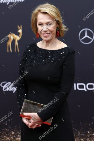 Gaby Dohm attends the 71th annual Bambi awards ceremony in Baden Baden, Germany, 21 November 2019. The awards recognize excellence in international media and television.