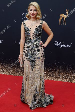 Stock Picture of Susan Sideropoulos attends the 71th annual Bambi awards ceremony in Baden Baden, Germany, 21 November 2019. The awards recognize excellence in international media and television.