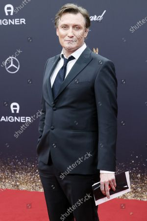 Oliver Masucci attends the 71th annual Bambi awards ceremony in Baden Baden, Germany, 21 November 2019. The awards recognize excellence in international media and television.