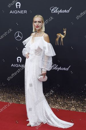 Stock Image of Viktoria Rader attends the 71th annual Bambi awards ceremony in Baden Baden, Germany, 21 November 2019. The awards recognize excellence in international media and television.