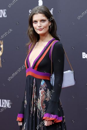Vanessa Fuchs attends the 71th annual Bambi awards ceremony in Baden Baden, Germany, 21 November 2019. The awards recognize excellence in international media and television.