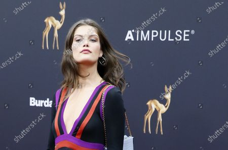 Stock Picture of Vanessa Fuchs attends the 71th annual Bambi awards ceremony in Baden Baden, Germany, 21 November 2019. The awards recognize excellence in international media and television.