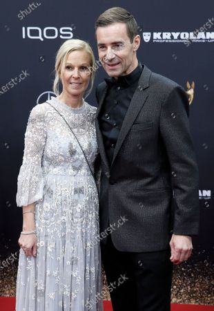 Kai Pflaume and Ilke Pflaume attend the 71th annual Bambi awards ceremony in Baden Baden, Germany, 21 November 2019. The awards recognize excellence in international media and television.