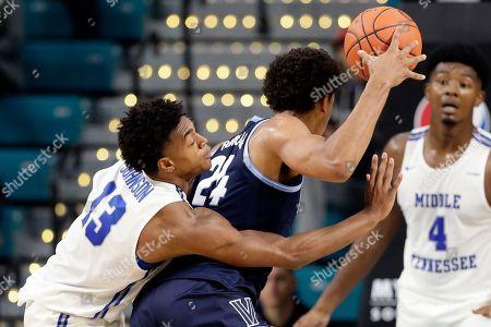 Editorial photo of Middle Tennessee State Villanova Basketball, Conway, USA - 21 Nov 2019