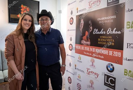 Editorial picture of Eliades Ochoa and Argentina present collaboration in Huelva, Spain - 21 Nov 2019
