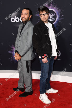 Pete Wentz and Rivers Cuomo