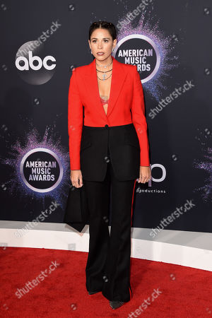 Editorial picture of 47th Annual American Music Awards, Arrivals, Microsoft Theater, Los Angeles, USA - 24 Nov 2019