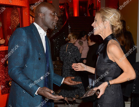 Ozwald Boateng and Laura Bailey