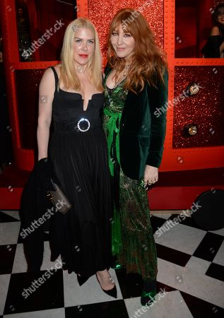 Stock Picture of Fiona Leahy and Charlotte Tilbury
