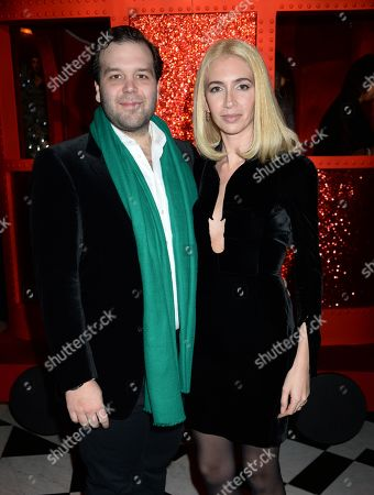 Joseph Getty and Sabine Getty