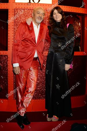 Christian Louboutin and Bella Freud