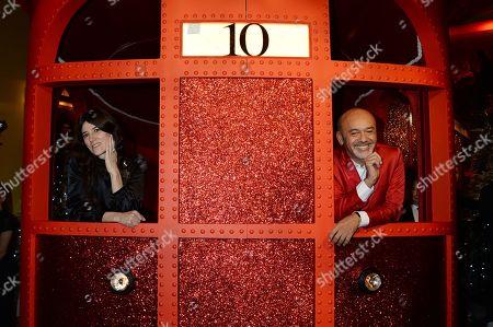 Bella Freud and Christian Louboutin