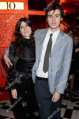Bella Freud and Jimmy Fox