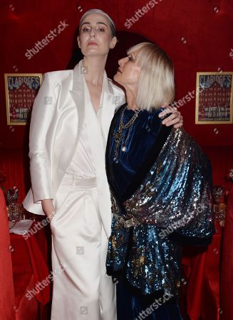 Stock Picture of Erin O'Connor and Virginia Bates