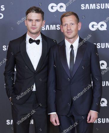 Paul Andrew and Jeremy Irvine