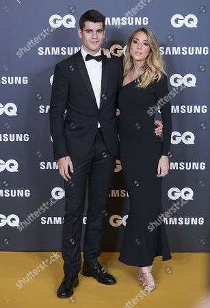 Alvaro Morata and Alice Campello