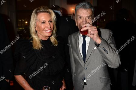 Stock Image of Carole Bamford and Nicky Haslam