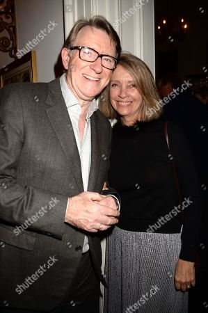 Editorial image of Nicky Haslam Birthday Party, The Polish Hearth Club, London, UK - 21 Nov 2019